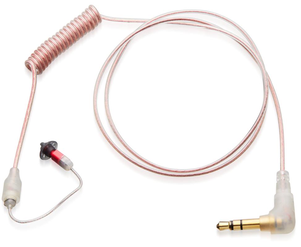 N-EAR Stealth260 Ohrhörer (rechtes Ohr) für die verdeckte Trageweise mit 3,5 mm Klinkenstecker