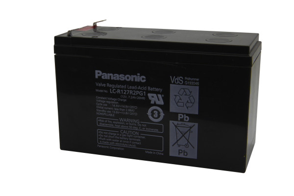 Panasonic Blei Akku Typ LC-R127R2PG1