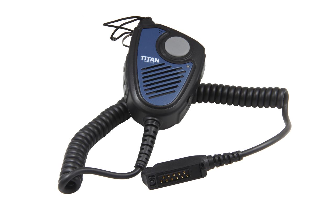 TITAN remote speaker microphone MM20 with Nexus socket 01 suitable for Sepura STP9000, SC20